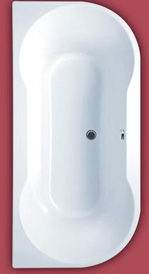 félköríves fürdőkád