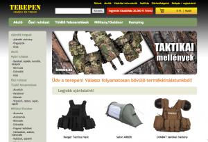 terepen.hu webáruház